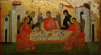 The Holy icon of the Trinity: the value for the Orthodox