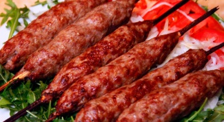 Recipe kebab in the oven