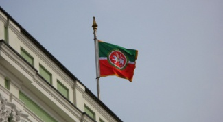 The colors on the flag of the Republic of Tatarstan