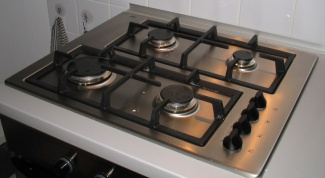 How to clean a gas stove with aluminium hob