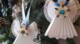 Как сделать ангелочка из бумаги своими руками  в 2017 году