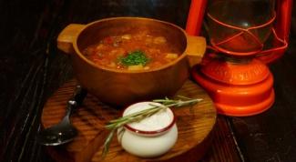 Как приготовить суп из оленины