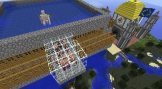 In the game minecraft to make a iron farm