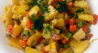 Тушеная картошка с овощами: рецепты приготовления
