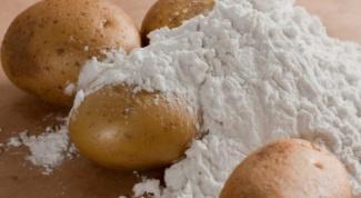 Картофельный крахмал: польза или вред