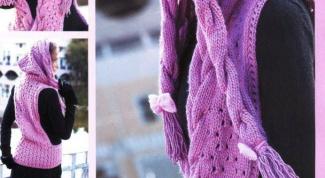 Капюшон-шарф - модный аксессуар осенне-зимнего сезона