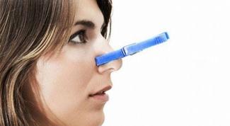 Заложенность носа без соплей: причины