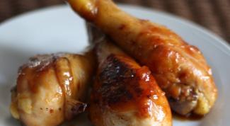 Как приготовить куриные ножки на гриле с остро-сладким соусом