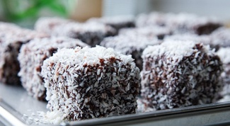 Как приготовить пирожные «Ламингтон»