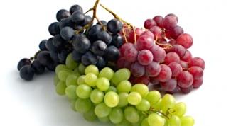 Виноград: польза и противопоказания