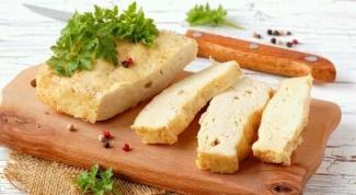 Как приготовить куриное суфле с кабачком