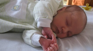 As a newborn to sleep easier