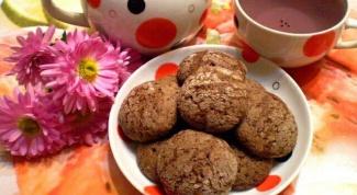 Готовим вкусное шоколадное печенье за полчаса