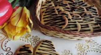 Как приготовить изысканное песочное печенье