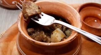 Как приготовить телятину в горшочке