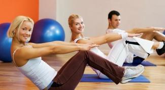Как заниматься спортом после кесарева сечения