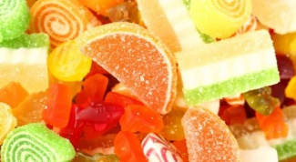 Could a large consumption of sweets can cause coughing