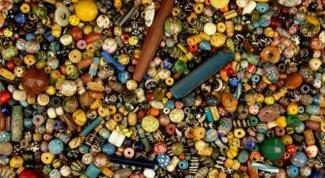 Как сделать африканские бусы из полимерной глины