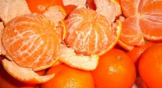 When ripe tangerines