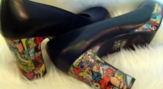 Как сделать декупаж обуви