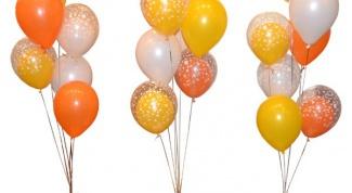 Как сделать фонтан из воздушных шаров своими руками