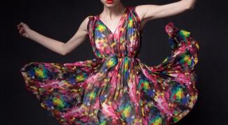 Сарафан из шифона: самые стильные модели 2014 года