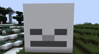 Как сделать голову скелета в Майнкрафт