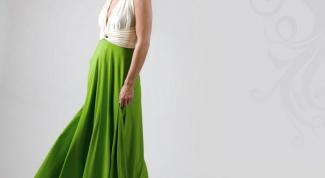 Платье шифоновое в пол - must have на лето