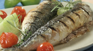 Mackerel in grills: cooking recipe