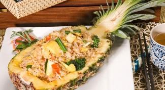 Жареный рис: способ приготовления сочетание с другими продуктами