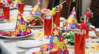 How to set the table for the birthday