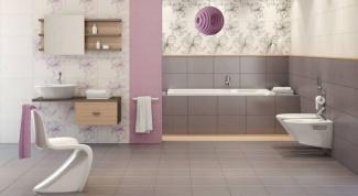 Каким цветом покрасить стены в ванной, если пол серый