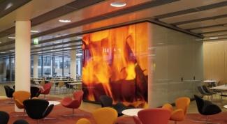 Декоративные стеклянные панели для стен