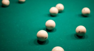 What made billiard ball