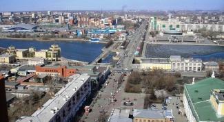 Где находится Челябинск