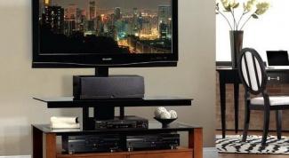 Как выбрать тумбочку под телевизор