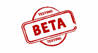 What does beta version of the site, program
