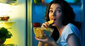 Что можно кушать на ночь и не поправляться