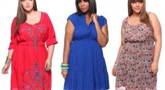 Как выбрать фасоны платьев для полных девушек