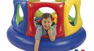 Манежи для детей: основные типы