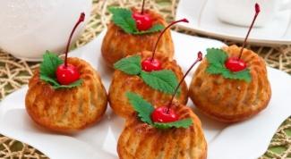 Творожные маффины: простой рецепт сложной выпечки