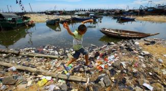 Что загрязняет окружающую среду