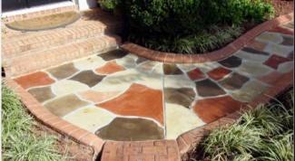 Какие бывают красители для бетона