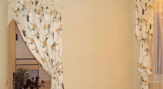 Как сшить шторы на дверной проем