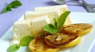 Как приготовить семифредо с  лимоном