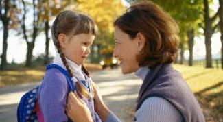 Как помочь школьнику адаптироваться к школе