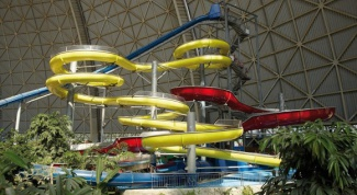 The biggest water parks in Russia