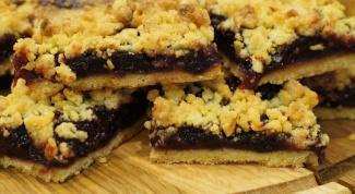 Как приготовить песочный пирог-печенье с инжиром