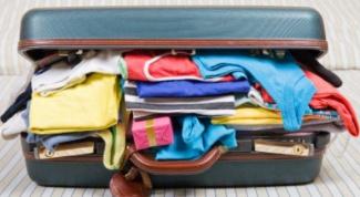 Как уложить вещи в чемодан