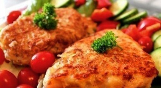 Филе красной рыбы в картофельном кляре